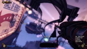 Bioshock Infinite overhead rails
